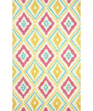 RugStudio presents Nuloom Hand Hooked Athena Pink Hand-Hooked Area Rug