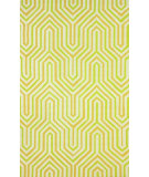 RugStudio presents Nuloom Hand Hooked Demi Light Green Hand-Hooked Area Rug