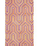 RugStudio presents Nuloom Hand Hooked Demi Purple Hand-Hooked Area Rug