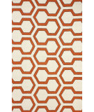 RugStudio presents Nuloom Hand Hooked Knob Red Hand-Hooked Area Rug