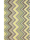 RugStudio presents Nuloom Hand Hooked Rustic Wave Sunflower Hand-Hooked Area Rug