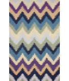 RugStudio presents Nuloom Hand Hooked Soft Waves Multi Hand-Hooked Area Rug