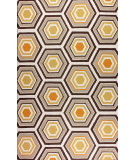 RugStudio presents Nuloom Hand Hooked Bloomfield Brown Hand-Hooked Area Rug