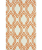 RugStudio presents Nuloom Hand Hooked Dylan Orange Hand-Hooked Area Rug