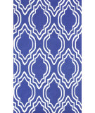 RugStudio presents Nuloom Hand Hooked Dylan Blue Hand-Hooked Area Rug