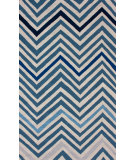 RugStudio presents Nuloom Hand Hooked Jaques Blue Hand-Hooked Area Rug