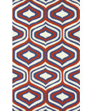RugStudio presents Nuloom Hand Hooked Disco Orange Hand-Hooked Area Rug