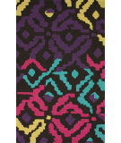 RugStudio presents Nuloom Hand Hooked Martinique Dark Multi Hand-Hooked Area Rug