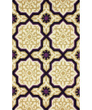 RugStudio presents Nuloom Hand Hooked Orion Purple Hand-Hooked Area Rug