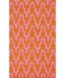 RugStudio presents Nuloom Hand Hooked Liam Pink Hand-Hooked Area Rug