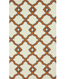 RugStudio presents Nuloom Hand Hooked Aruba Orange Hand-Hooked Area Rug