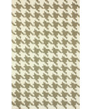 RugStudio presents Nuloom Hand Hooked Houndstooth Brown Hand-Hooked Area Rug