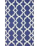 RugStudio presents Nuloom Hand Hooked Brandon Royal Blue Hand-Hooked Area Rug