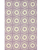 RugStudio presents Nuloom Hand Hooked Amy Lilac Hand-Hooked Area Rug