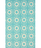 RugStudio presents Nuloom Hand Hooked Amy Light Turquoise Hand-Hooked Area Rug