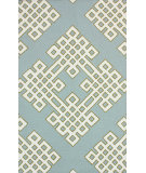 RugStudio presents Rugstudio Sample Sale 104381R Blue Hand-Hooked Area Rug
