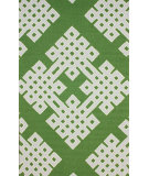 RugStudio presents Nuloom Hand Hooked Infinite Green Hand-Hooked Area Rug