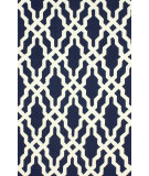 RugStudio presents Nuloom Hand Hooked Rico Navy Hand-Hooked Area Rug