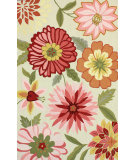 RugStudio presents Nuloom Hand Hooked Palm Springs Pink Hand-Hooked Area Rug