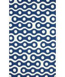 RugStudio presents Nuloom Hand Hooked Sheila Blue Hand-Hooked Area Rug