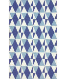 RugStudio presents Nuloom Hand Hooked Dio Blue Hand-Hooked Area Rug