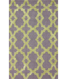 RugStudio presents Nuloom Hand Tufted Criss Cross Purple Hand-Tufted, Good Quality Area Rug