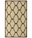 RugStudio presents Nuloom Decor Trellis Ivory Hand-Hooked Area Rug