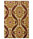 RugStudio presents Nuloom Hand Tufted Staci Gold Hand-Tufted, Good Quality Area Rug