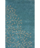 RugStudio presents Nuloom Hand Tufted Silverbell Blue Nile Hand-Tufted, Good Quality Area Rug