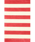 RugStudio presents Nuloom Hand Tufted Nautical Red Hand-Tufted, Good Quality Area Rug