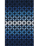 RugStudio presents Nuloom Hand Tufted Dexter Blue Multi Hand-Tufted, Good Quality Area Rug