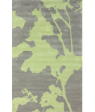 RugStudio presents Nuloom Hand Tufted Vidor Green Hand-Tufted, Good Quality Area Rug