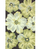 RugStudio presents Nuloom Hand Tufted Bloom Green Hand-Tufted, Good Quality Area Rug