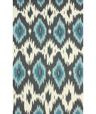 RugStudio presents Rugstudio Sample Sale 104388R Slate Hand-Hooked Area Rug