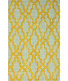 RugStudio presents Nuloom Hand Hooked Viv Plush Gold Hand-Hooked Area Rug