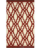 RugStudio presents Nuloom Hand Hooked Estelle Red Hand-Hooked Area Rug