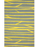 RugStudio presents Nuloom Hand Hooked Rays Gold Hand-Hooked Area Rug