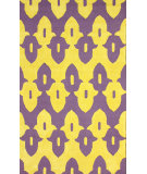 RugStudio presents Nuloom Hand Hooked Honor Purple Hand-Hooked Area Rug