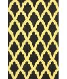 RugStudio presents Rugstudio Sample Sale 104397R Black Hand-Hooked Area Rug