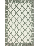 RugStudio presents Nuloom Hand Hooked Byzantine White Hand-Hooked Area Rug