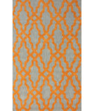 RugStudio presents Nuloom Hand Hooked Nicolette Orange Hand-Hooked Area Rug