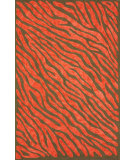 RugStudio presents Nuloom Hand Hooked Flame Red Hand-Hooked Area Rug