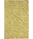 RugStudio presents Nuloom Hand Hooked Flame Gold Hand-Hooked Area Rug