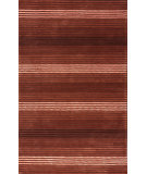 RugStudio presents Nuloom Hand Hooked Brushed Red Hand-Hooked Area Rug
