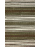 RugStudio presents Nuloom Hand Hooked Brushed Coffee Hand-Hooked Area Rug