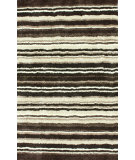RugStudio presents Nuloom Hand Tufted Streaked Shaggy Brown Multi Area Rug