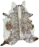 RugStudio presents Nuloom Hand Made Meta Cowhide Metallic Area Rug
