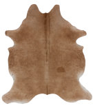 RugStudio presents Nuloom Hides Cow Hide Beige Area Rug