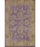 RugStudio presents Nuloom Hand Knotted Darius Purple Hand-Knotted, Good Quality Area Rug
