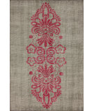 RugStudio presents Nuloom Hand Knotted Suri Pink Hand-Knotted, Good Quality Area Rug